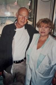 Dietrich Hollinderbäumer - Schauspieler - mit Annerose Köneke - Porzellanmalerin
