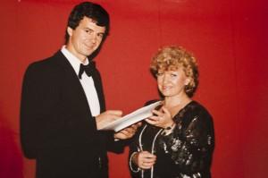 Peter-Michael Kolbe - Ruder-Weltmeister - mit Annerose Könneke - Porzellanmalerin