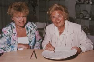 Heidi Kabel - Volksschauspielerin & Sängerin - mit Annerose Köneke - Porzellanmalerin